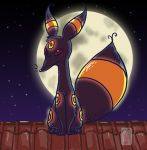 Umbreon Moon Toit Nuit by UmbreoNoctie