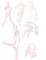 Random Poses by Teabeescus