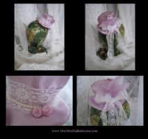 Lavender Bliss Mini Top Hat by AngelVashir