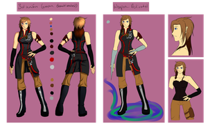 [DGM] Adelphe McNeal 'Current' Ref by knightchick