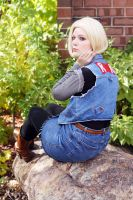 Android 18 - Contemplative by mintifresh