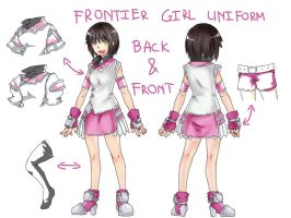 Frontier Girl Uniform by BlakkHeart