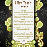 A New Year's Prayer by GodwinAP
