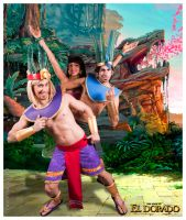 Road to el Dorado - Ruta hacia el Dorado cosplay by taifu89