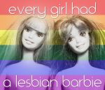Lesbian Barbies by LesboWorld