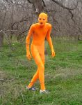 Zentai in the Woods31 by Tshirtartist