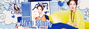 [15.08.13] HPBD To Miss Mong by chutchi54