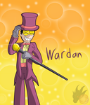 Wardan - Superjail Gift for Soulzero777 by ColorDrake