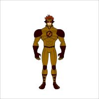 Justice Lord Kid Flash [Lightspeed] by kreedantillesordo