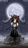 Bloodrayne by moonlight by LaughingOrc