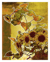 Modern Florals: Sunflower by Nyrak