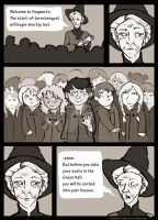 McGonagall Greets the First Years by srw110