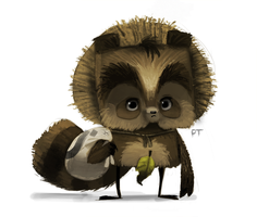 DAY 435. Tanuki by Cryptid-Creations