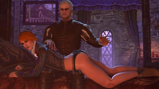 The witcher's touch by lyutor1945