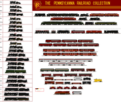 The Pennsylvania Railroad Collection by Andrewk4
