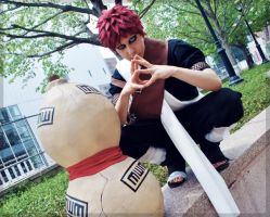Gaara of the Sand by Faxen