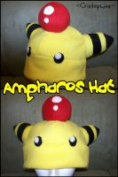 Ampharos Hat by Cristophine