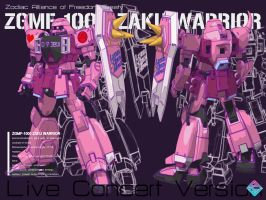 ZGMF-1000 ZAKU WARRIOR live by Ladav01