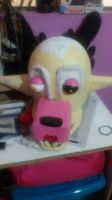 [In Progress] The Mangle Cosplay by laorejafan1990