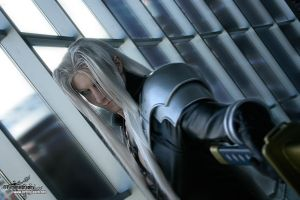 Sephiroth Cosplay by Lillyxandra