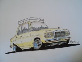 Mercedes-Benz W123 by prestonthecarartist