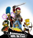 Simpsons Adventure by prafaelb7