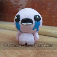 Binding of Isaac sculpture - Isaac by claydoodles