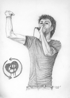 Tim McIlrath by Calefacto