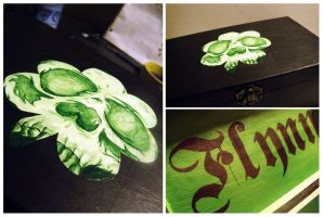 My Evil Irish Stepchild Keepsake Box by Murphy-Murphy