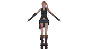 MMD Serah Style and Steel (No Bones) DL by Xeno-Fan-Jinusa