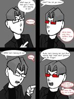 One Sided Conversation by HappinessComics