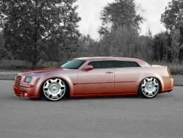 300c on veyrons by immortalwolfhunter