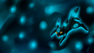 Sparkling Shiny Umbreon Wallpaper by Chicorii