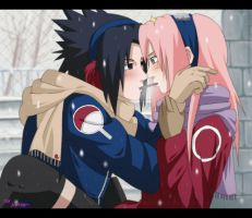 CM-SasuSaku:White Day by SkyGiratina00