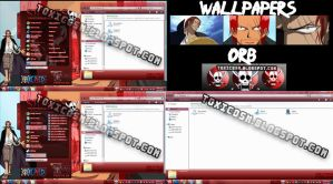 Tema win 7 Shanks by ToxicoSM