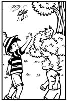 Sample panel from Dan the Wolf by Marvelousboy