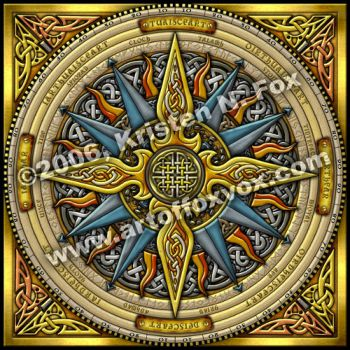 Celtic Compass by foxvox