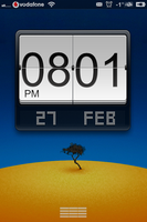 LS  Big_flip_clock_animated_ MiUI_variation by nucu