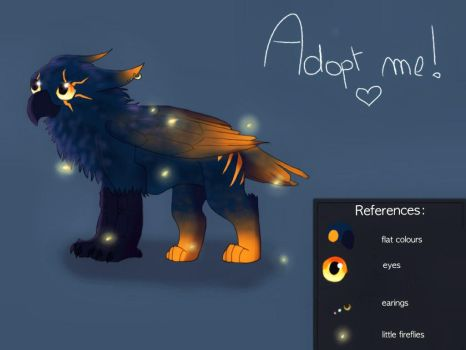 Baby griffin adoptable [CLOSED] by Aaloka