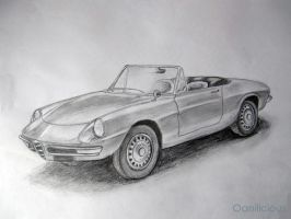 Alfa Romeo 1600 Spider by Oanilicious