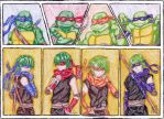 Turtles, We Human! by IsisConstantine