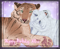 Happy Birthday Nika by Atherra