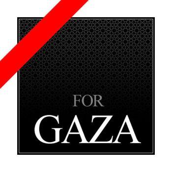 For Gaza by gadjoX