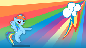 Rainbow Dash Wallpaper by Hambone0326