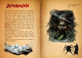Acromantula - Fantastic Beasts Book by DragonsTrace