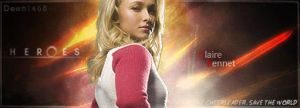 Heroes - Claire Bennet Sig by ChocSoldier