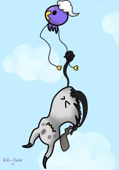 Just hang in there Shiny! by Liz-DeWitt