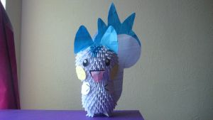 3D Origami Pachirisu by iBeautyLovely