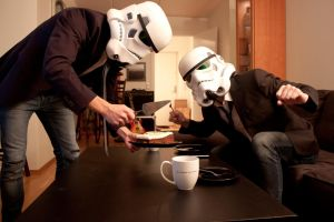 Daily life of a Stormtrooper, pt. 1 by Alakdagnirion
