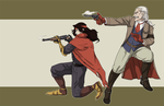 It's a zombie'ghetti western by SherlockianHamps